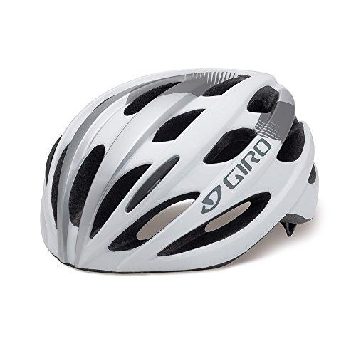 GIRO(ジロ) ヘルメット スタンダードモデル 日本人向けワイドフィット TRINITY WF WHITE/SILVER サイズF 【日本正規品/2年間保証】