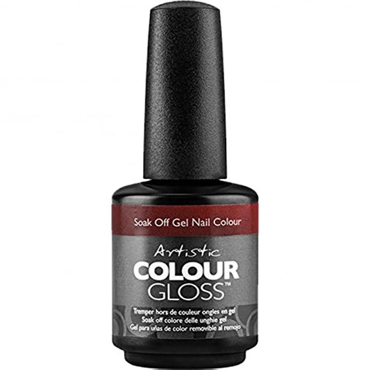 誰が繁殖の頭の上Artistic Colour Gloss - 1-2 Punch - 0.5oz / 15ml