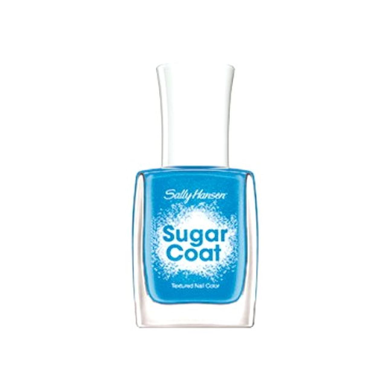 旋律的ポール活気づけるSALLY HANSEN Sugar Coat Special Effect Textured Nail Color - Razzle-berry (並行輸入品)