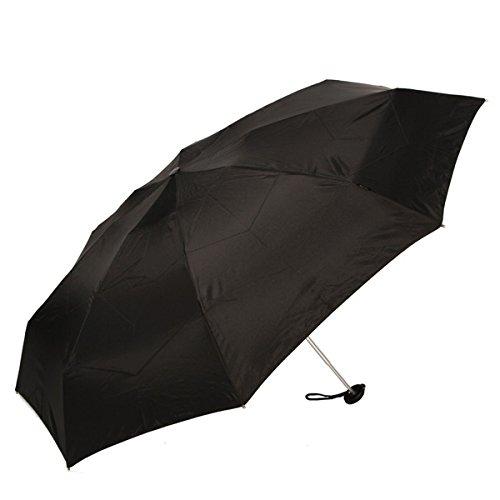 Knirps クニルプス X1 Pod ケース付折りたたみ傘 #89-811-100 1.ブラック