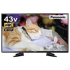 パナソニック 43V型 液晶 テレビ VIERA TH-43EX600 4K USB HDD録画対応 2017年モデル