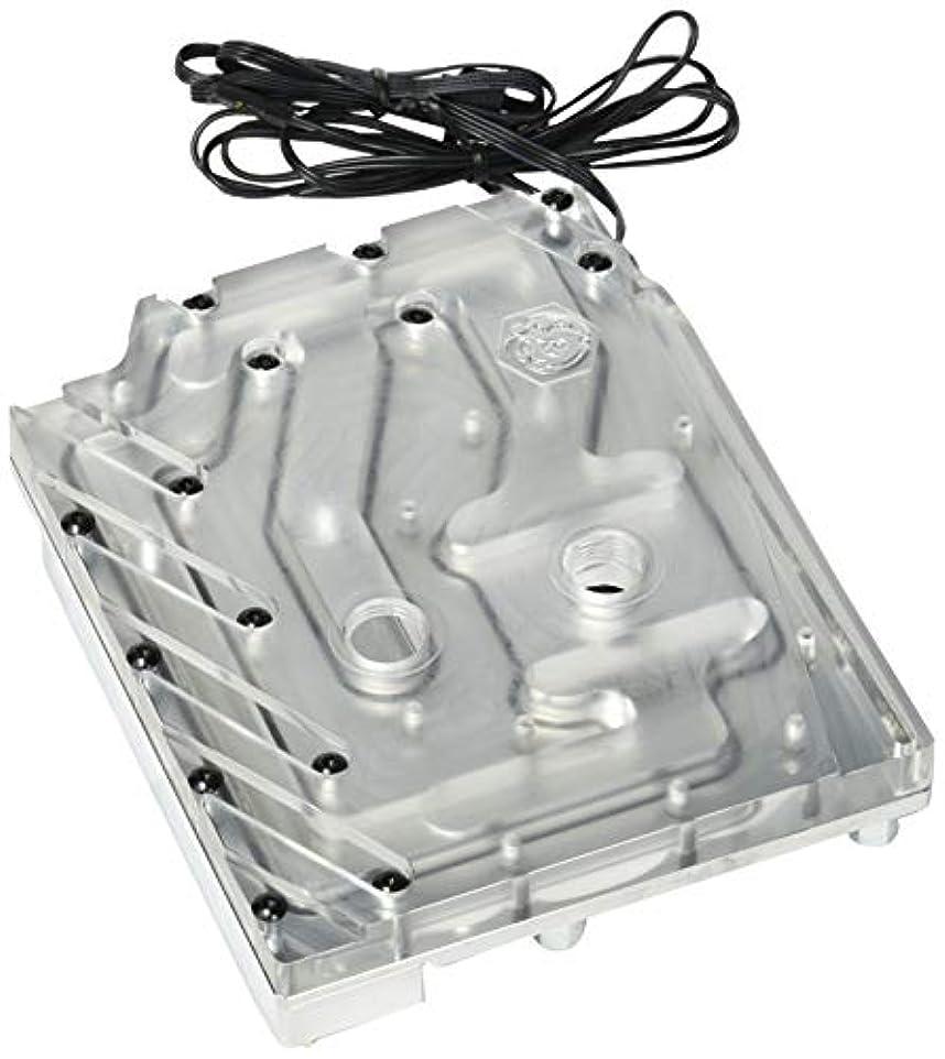 有効な東粘着性Bitspower モノ ブロック MX370 RGB-ニッケル