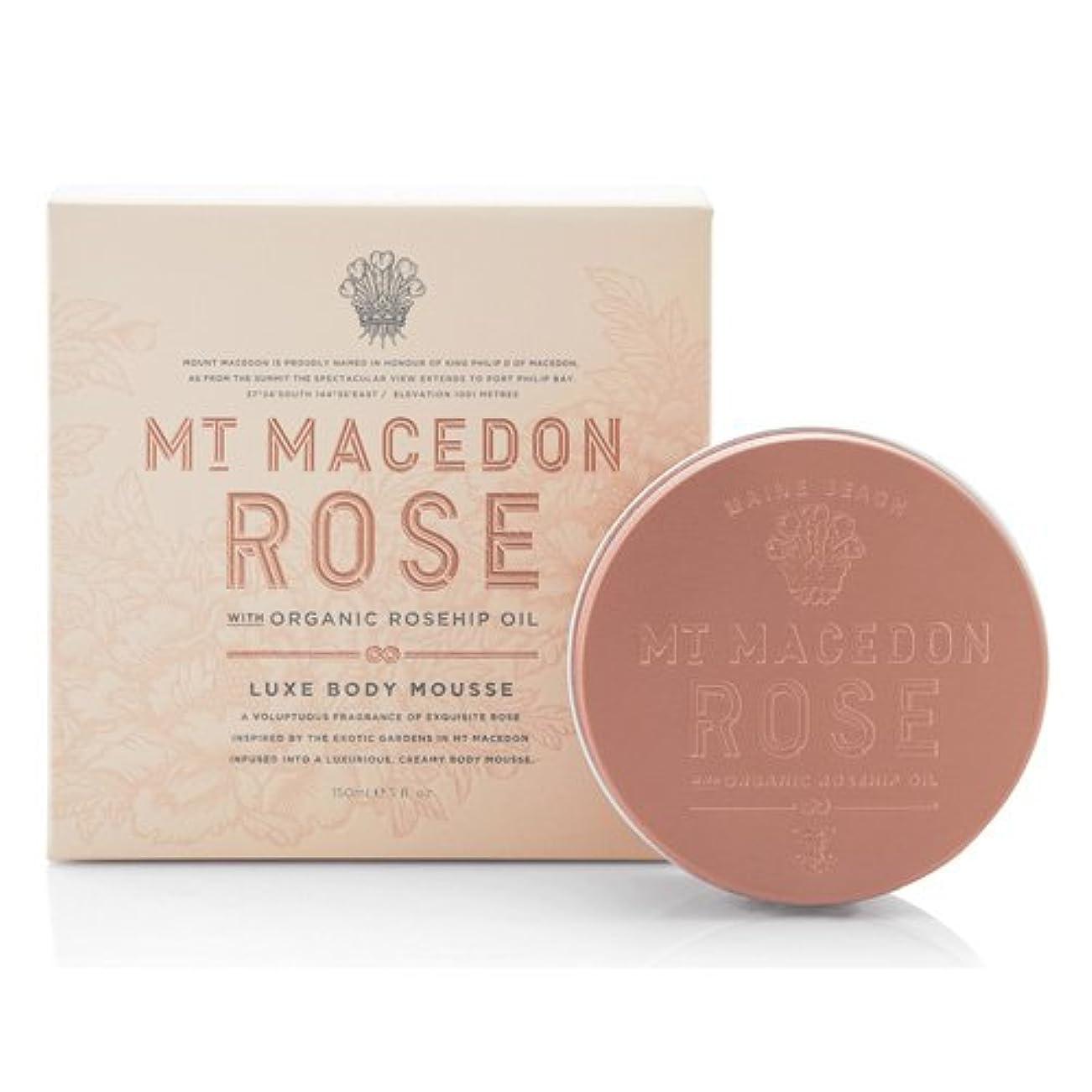 乳製品従事した浸漬MAINE BEACH マインビーチ MT MACEDON ROSE マウント マセドン ローズ リュクス ボディムース