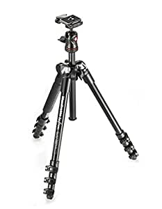 Manfrotto コンパクト三脚 Befree アルミ 4段 ボール雲台キット MKBFRA4-BH