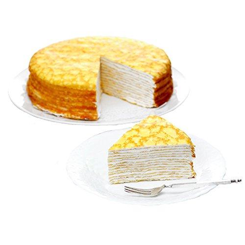 【お取り寄せグルメ】北海道ミルクレープ バニラ 7号(21cm) 5815-070001 ケーキ ホールケーキ 北海道産 ギフト 贈物