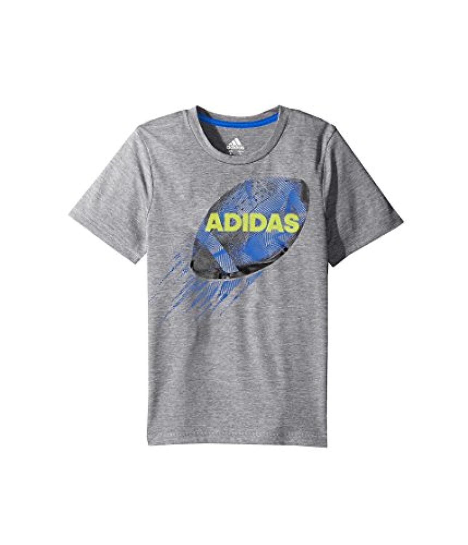 (アディダス) adidas キッズTシャツ Rocket Ball Tee (Toddler/Little Kids) Dark Grey 7X Little Kids (7歳) One Size