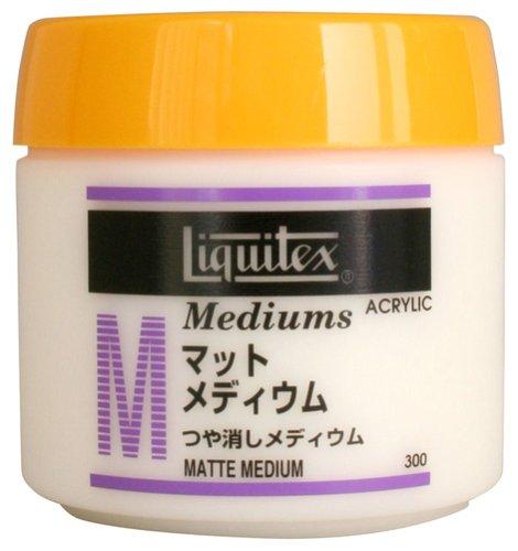 リキテックス アクリル絵具 リキテックス マットメディウム 300ml
