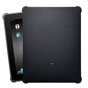 XGear iPad用スナップオン保護カバー BLACK-OUT for iPad IPD-RUB-BLK