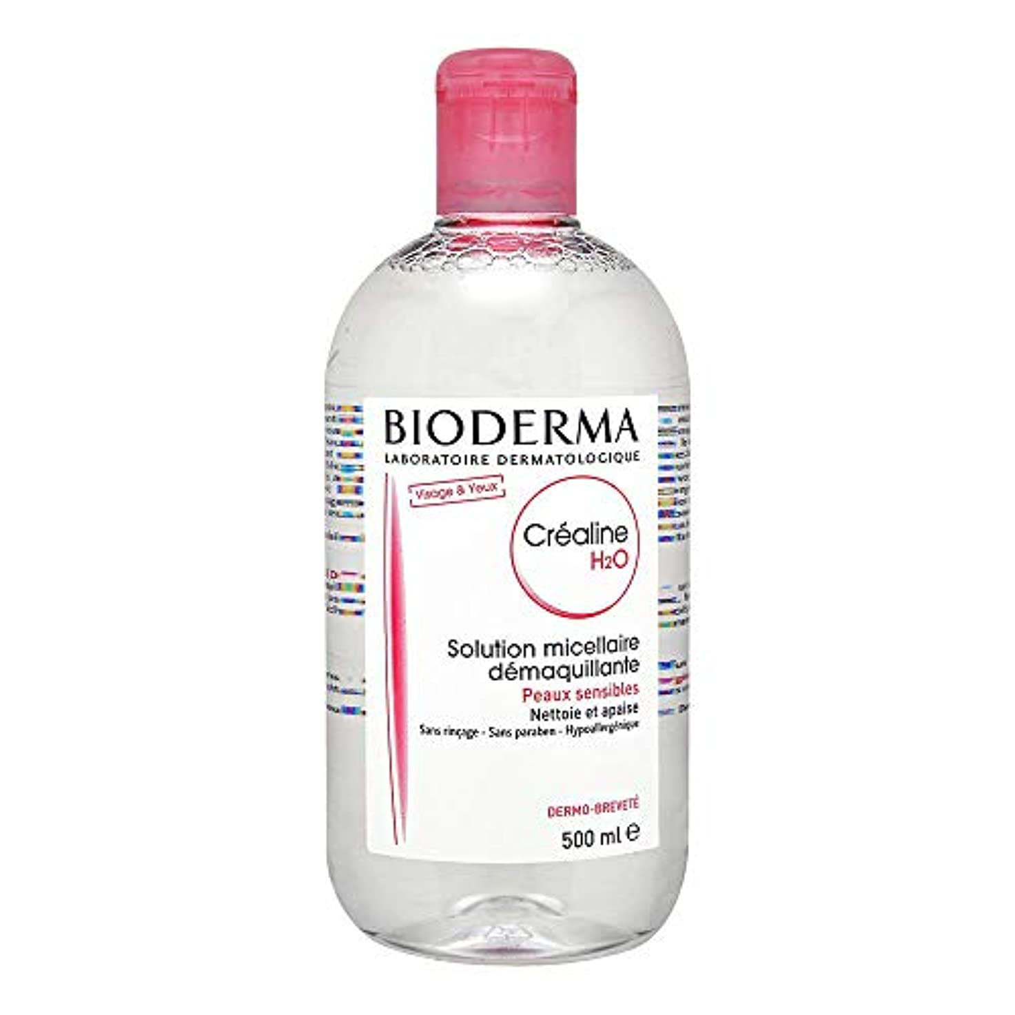 ジャンクション自殺構造的ビオデルマ(Bioderma) クレアリヌ H2O ソリューション ミスレール(全ての肌用) [並行輸入品]