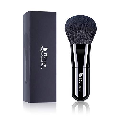 DUcare ドゥケア 化粧筆 メイクブラシ フェイスブラシ パウダー&チークブラシ 高級山羊毛 中光峰を100%使用