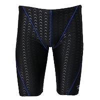 SunniMix 速乾性 快適 通気性 メンズ 水着 スイム ウェットスーツ ズボン ショーツパンツ 全3タイプ - ブルーライン, XL