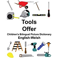 English-Welsh Tools/Offer Children's Bilingual Picture Dictionary