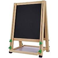 QING MEI 両面児童図鑑子供用イーゼル子供用黒板ブラケットタイプ