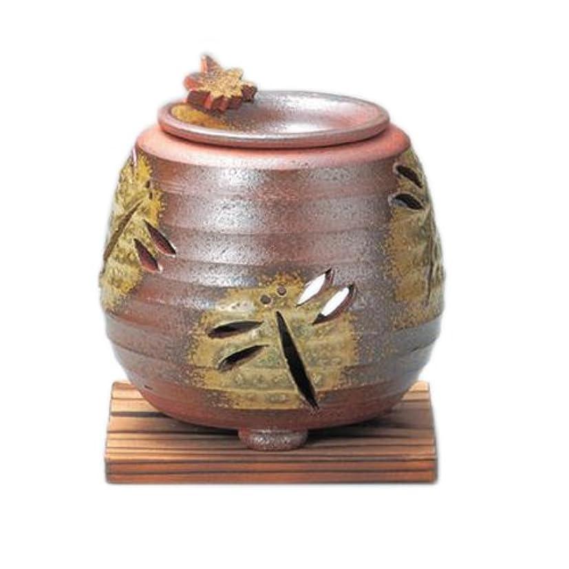 ヶ月目サーバ避難する常滑焼3-830石龍 焼〆千段トンボ茶香炉 AM-T412