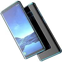 【M&Y】Samsung Galaxy Note9 ケース クリア Galaxy Note9 カバー Galaxy Note9 背面ケース 衝撃吸収 Galaxy Note9 クリアケース 「リングスタンド付」 「全3色」MY-Note9-DD-80807 (ブルー)