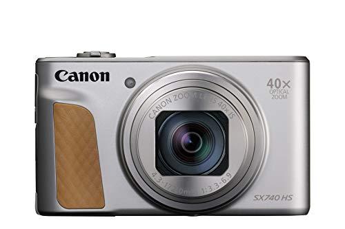 キヤノン デジタルカメラ PowerShot SX740 HS シルバー 2956C004 1台