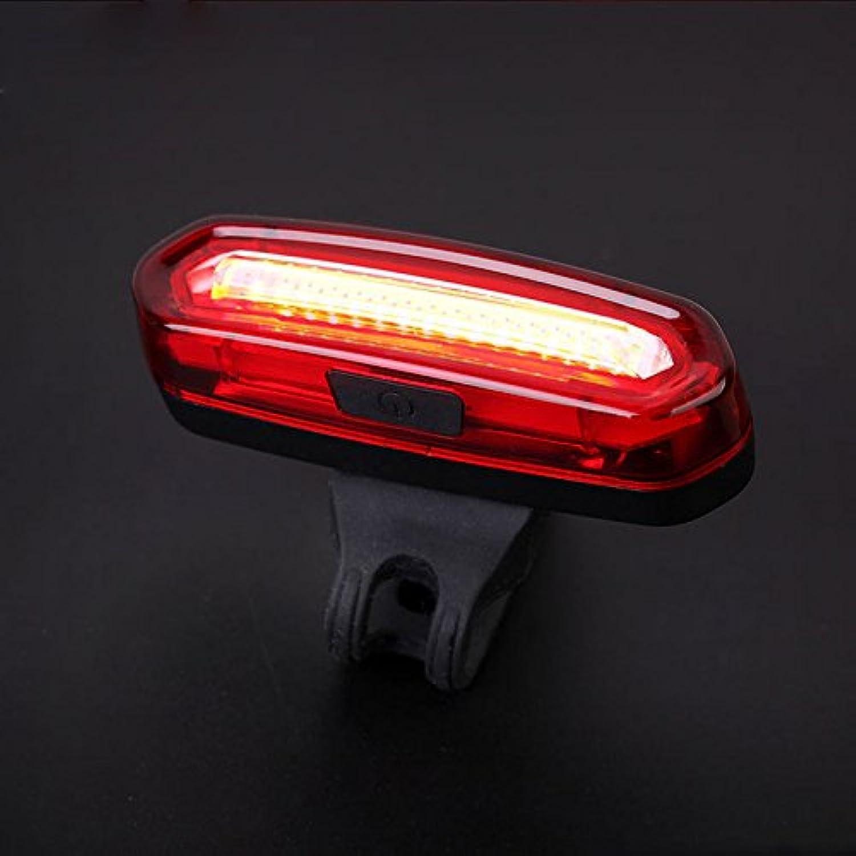 USB充電mini自転車テールライト - 超明るい防水led自転車ライト小型 軽量 自転車リアライト 6モード 夜間安全ライト警告灯 [並行輸入品]