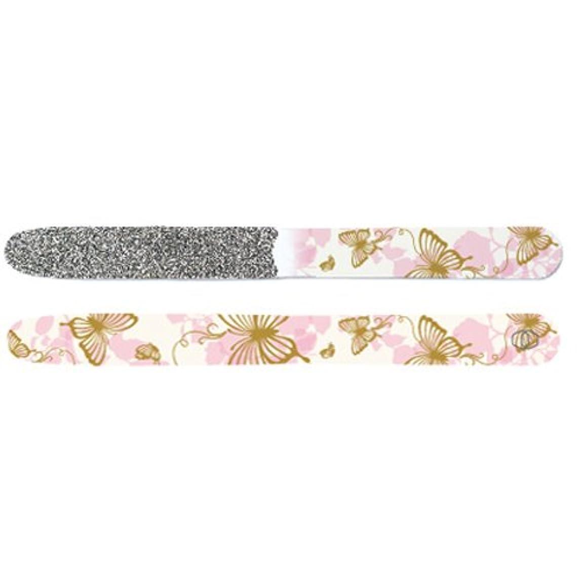 に慣れ定期的イブニングGOEI DIAMOND ダイヤモンド爪やすり オリジナル(ピンク蝶々)