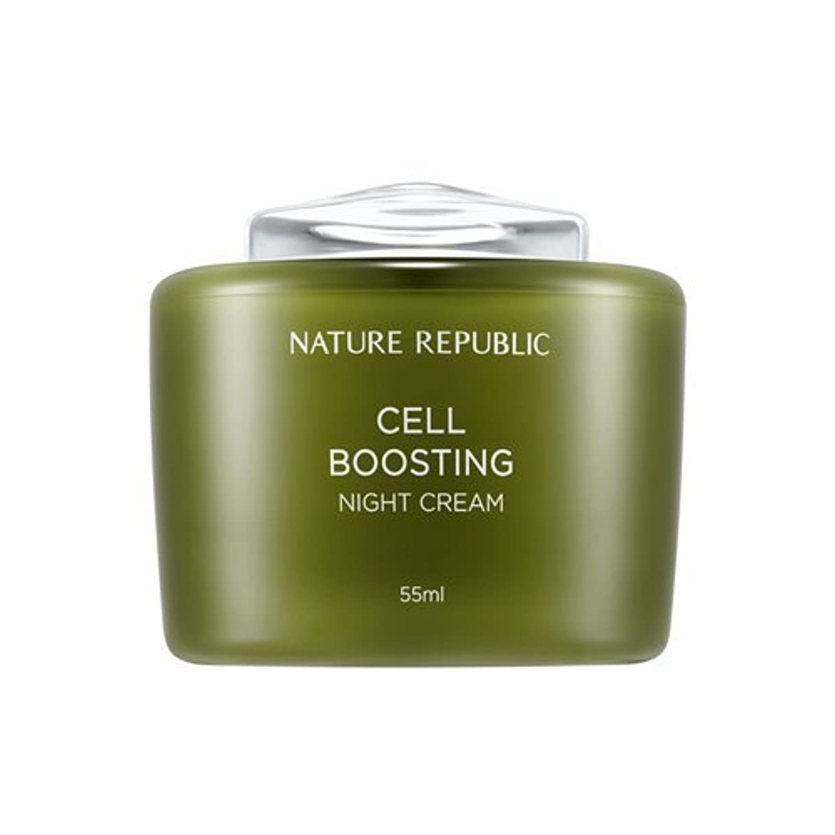 狂人桃団結するNATUREREPUBLIC Cell boosting Night Cream