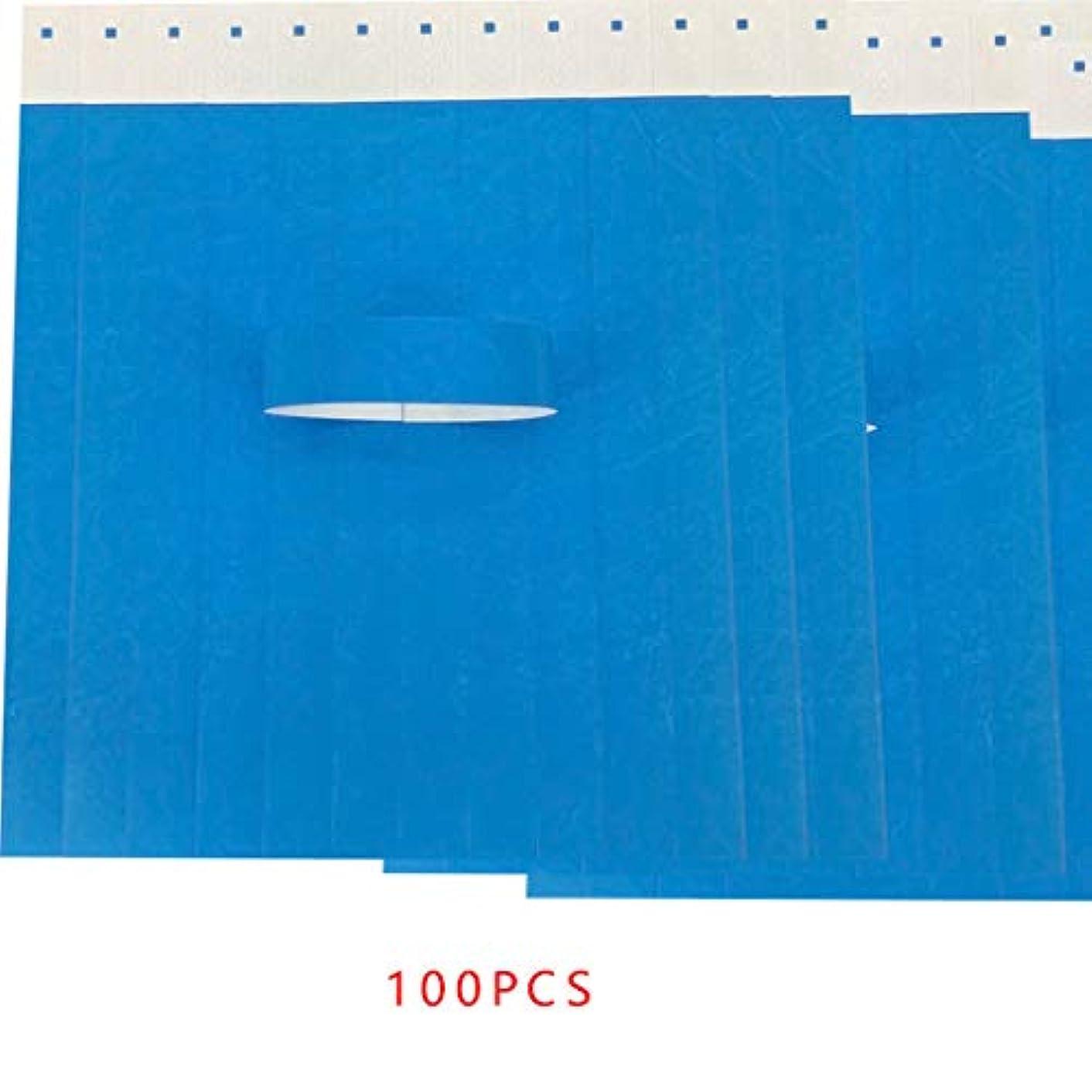 芸術的教礼儀Arichtop 100PCS /セット防水使い捨てのイベントリストバンド不織布紙のリストバンドアミューズメントパークの入場券