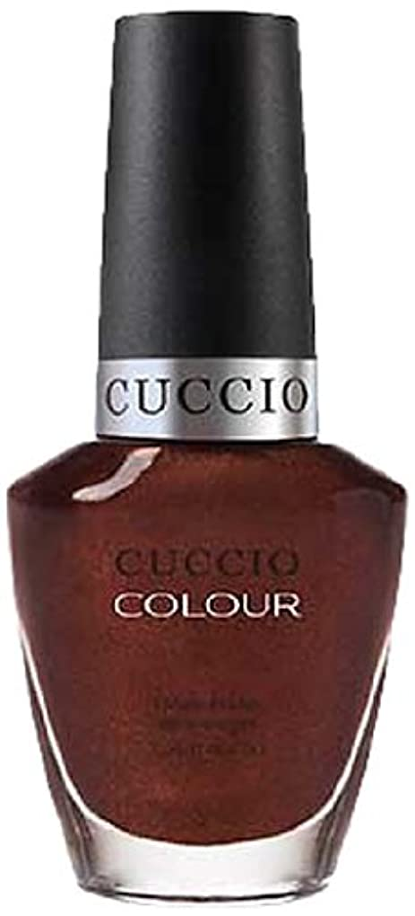 ひそかに消毒する苦痛Cuccio Colour Gloss Lacquer - It's No Istanbul - 0.43oz / 13ml