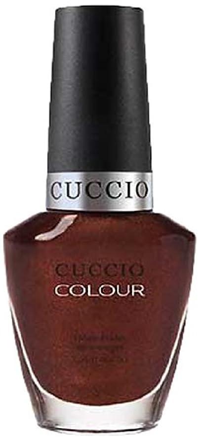 期待して軽習慣Cuccio Colour Gloss Lacquer - It's No Istanbul - 0.43oz / 13ml