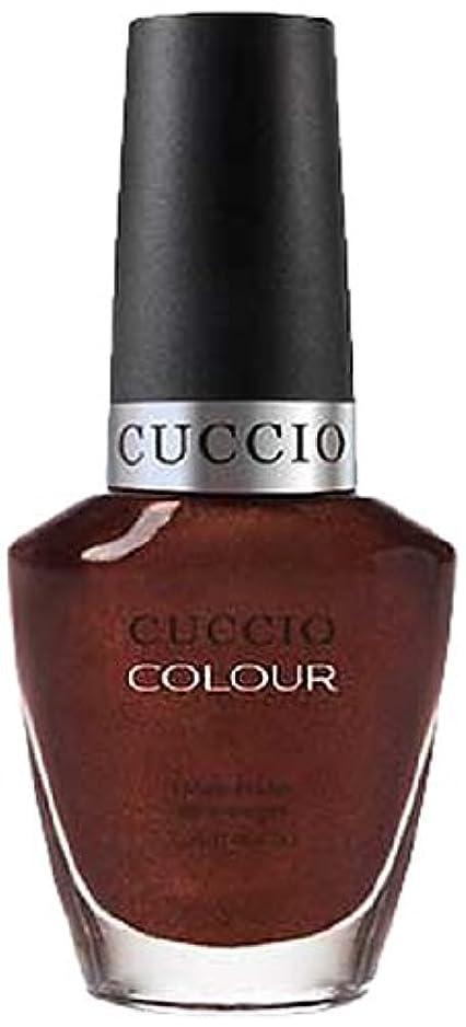 影響を受けやすいですドライ輸送Cuccio Colour Gloss Lacquer - It's No Istanbul - 0.43oz / 13ml