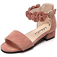 Always Pretty Little Girls Flats Sandals for Toddler Girls Party Dress Heels Shoes