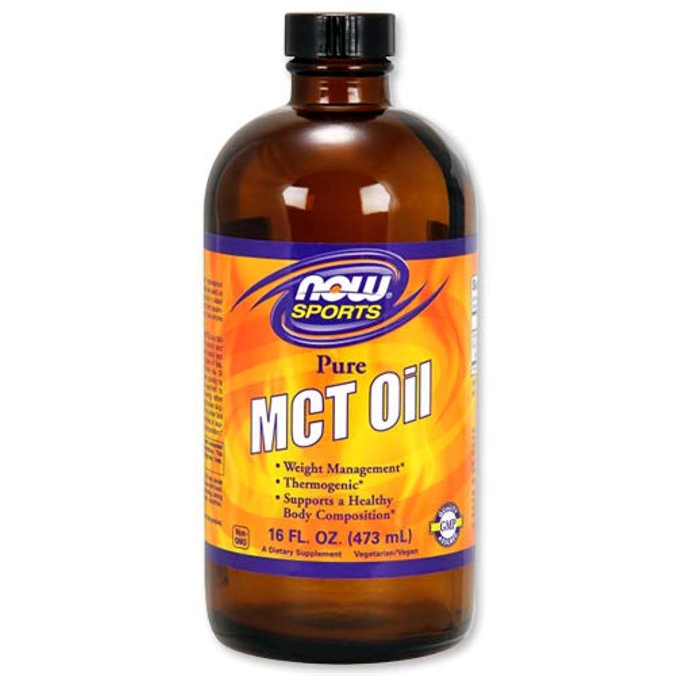繊毛教会干ばつNOW Foods MCTオイル 16 FL OZ 473ml [海外直送品]