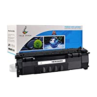 TRUE IMAGE HEQ5949A Compatible Toner Cartridge Replacement for HP Q5949A (Black) [並行輸入品]