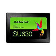 ADATA 2.5インチ 内蔵SSD 960GB SU630シリーズ 3D NAND QLC搭載 SMIコントローラー 7mm  ASU630SS-960GQ-R
