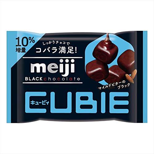 明治ブラックチョコレートCUBIE 10袋