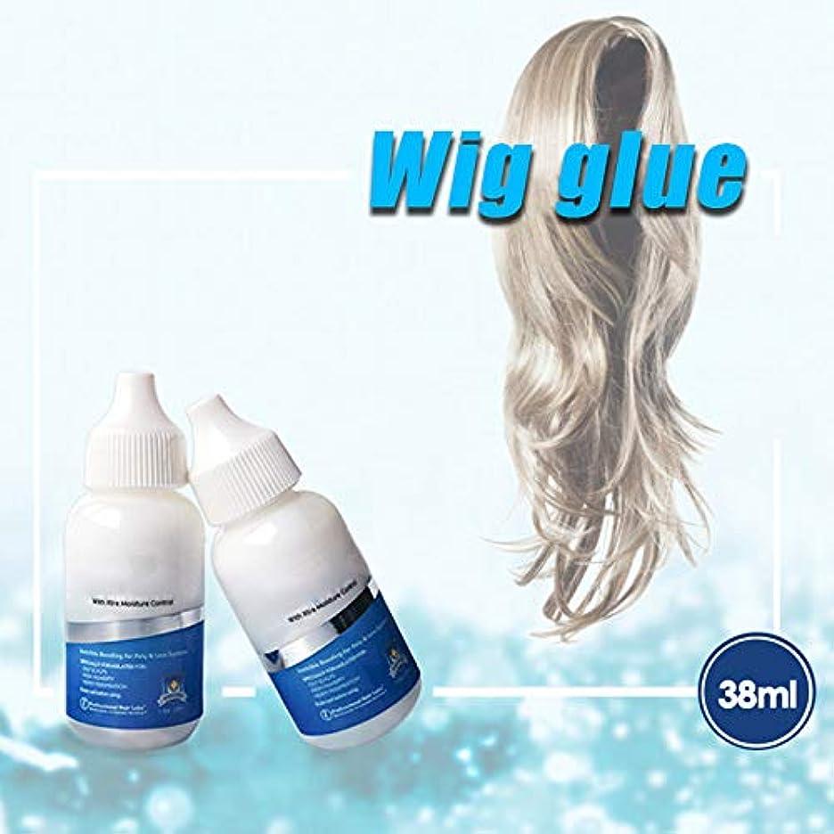 合成絶え間ない学部Beaurtty ポリレースヘアピースウィッグのため 髪の交換用接着剤目に見えない 接着剤接着剤余分な水分の制御
