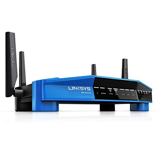 Linksys WRT3200ACMA-4T Linksys Wi-Fi Router with Bonus AC600 USB Adapter [並行輸入品]