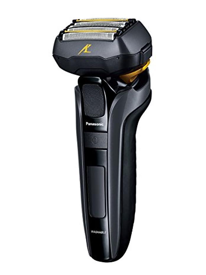 強大な刺繍アッティカスパナソニック ラムダッシュ メンズシェーバー 5枚刃 黒 ES-LV5C-K