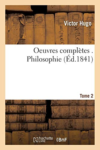 Download Oeuvres Complètes . Philosophie Tome 2 (Litterature) 2013611749