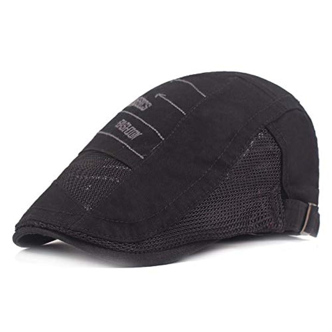 ターミナル選択迫害するサマー ベレー帽 メッシュ キャスケットハンチング帽 メンズ レディース ハット トレッキング日よけ 帽子