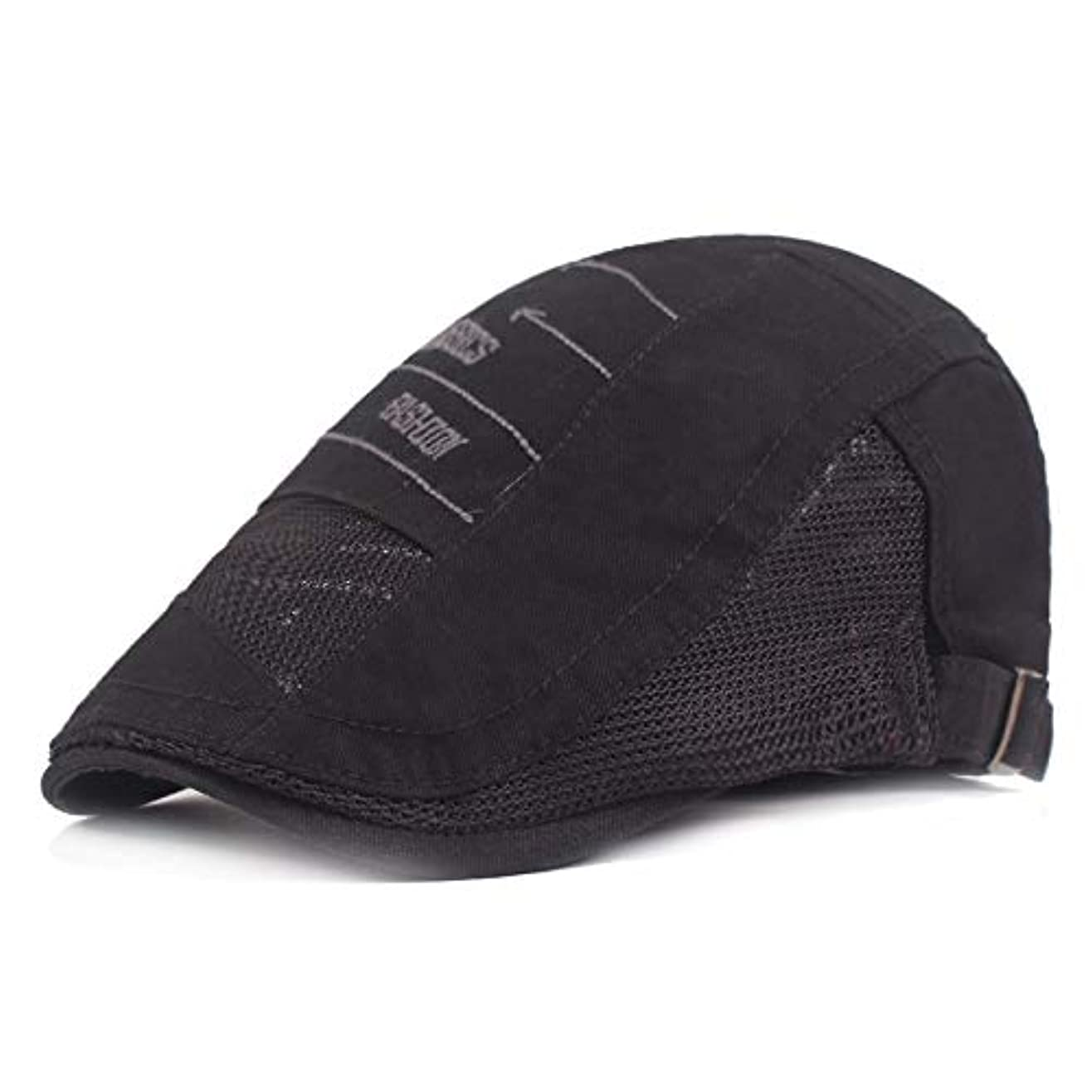 小間ボット放散するサマー ベレー帽 メッシュ キャスケットハンチング帽 メンズ レディース ハット トレッキング日よけ 帽子