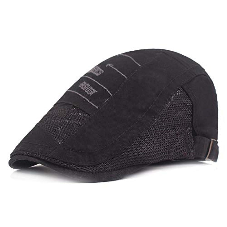 派手評価する法廷サマー ベレー帽 メッシュ キャスケットハンチング帽 メンズ レディース ハット トレッキング日よけ 帽子