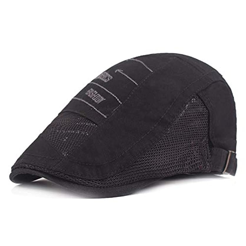 川監督する舌なサマー ベレー帽 メッシュ キャスケットハンチング帽 メンズ レディース ハット トレッキング日よけ 帽子