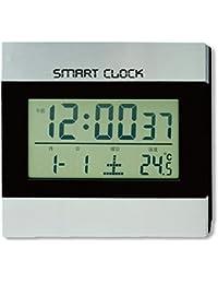 おしゃれ な 2WAY デジタル スマート クロック (置き時計、壁掛け時計 兼用) MEC-14