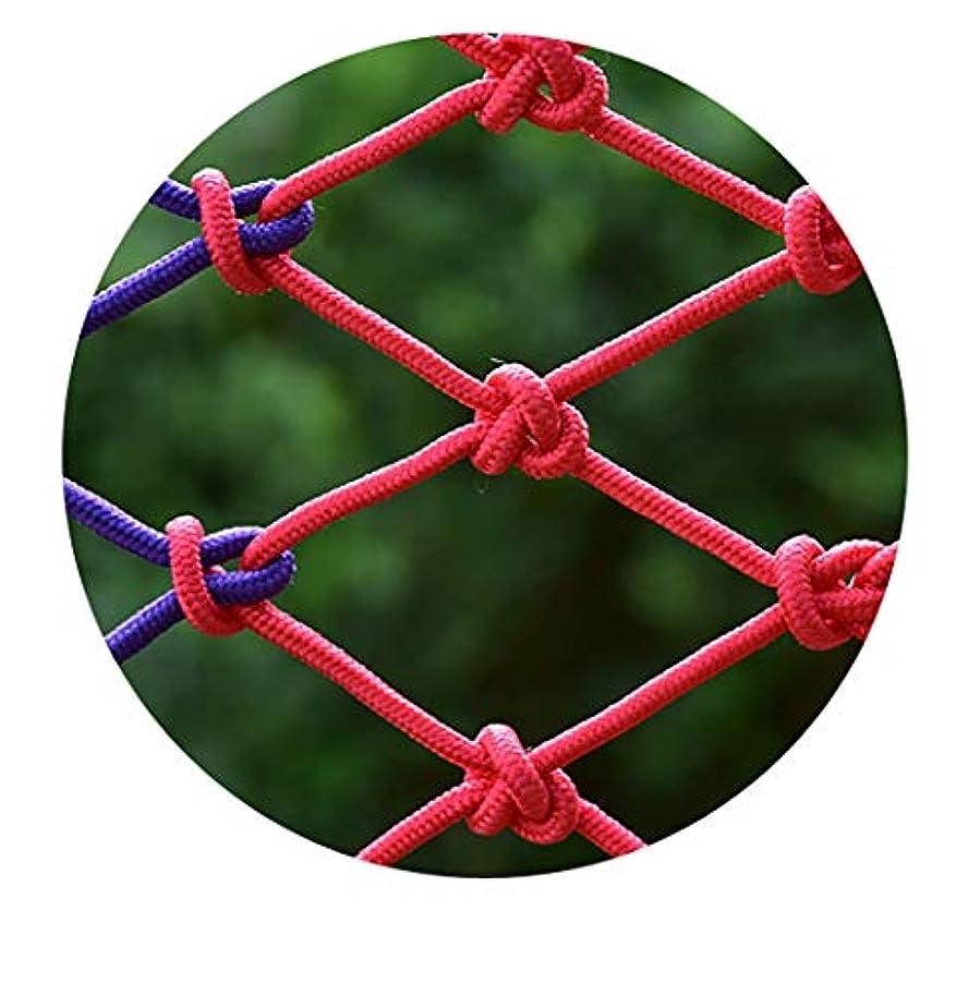 下品劣る発見子供用セーフティネット防護ネットバルコニー階段落下防止ネット幼稚園色装飾ネットフェンスネットワーク手編み伝統的な構造 (Color : Indoor, Size : 2m*3m)