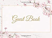 Guest Book: Wedding Guest Book Gift Baby Shower or Gender Reveal Party