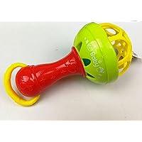 YChoice 可愛い赤ちゃんのおもちゃ ギフト 子供 知育 カラフル 感覚 ソフトベル リング ガラガラ ハンマー キッズ 面白いおもちゃ ギフト