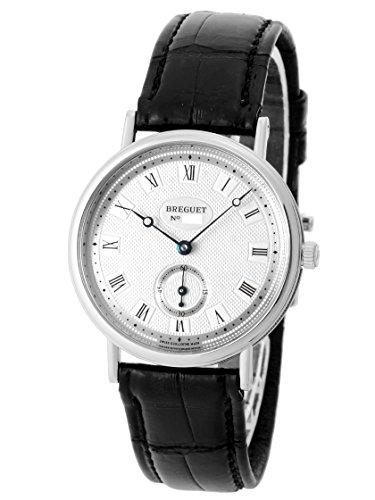 [ブレゲ] BREGUET 腕時計 クラシック 3910BB/15/286 WG/レザー シルバーギョシェ 手巻き メンズ [中古品] [並行輸入品]