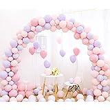 キャンディー色のバルーン、結婚式のアレンジメントバルーンアーチの装飾的なバルーンの誕生日パーティホームデコレーション複数の色 (色 : B)