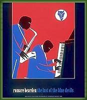 ポスター ロメール ベアデン The Last of the Blue Devils 額装品 ウッドベーシックフレーム(グリーン)