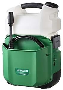 日立工機 18V コードレス高圧洗浄機 充電式 6.0Ahリチウムイオン電池、急速充電器付 AW18DBL(LYP)