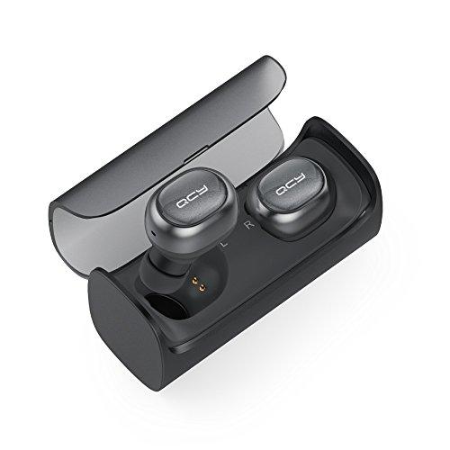 QCY 充電ケース付きフルワイヤレスイヤフォン ブラック QCY-Q29BK