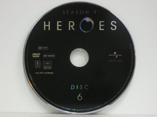 Heroes Season One DISC 6
